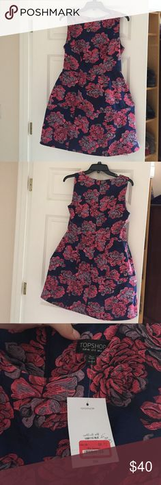 Top shop beauty  DISCOUNTED SHIPPING❕ Brand new, still has tags! There are additional pictures down below! If you're having trouble looking for them, just ask :) Topshop Dresses Midi