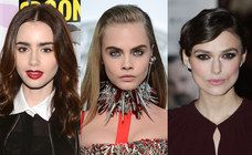 Celebrities with perfect big eyebrows: Cara Delevingne vs. Lily Collins