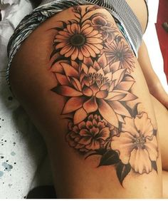 Family birth month flowers #beautytatoos