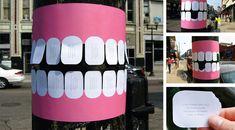 Guerilla Marketing Beispiel Zahnarzt