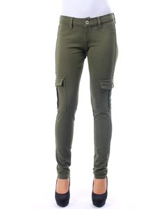Olive Stretchy Skinny Pants