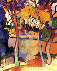 derain    Three Trees, L'Estaque / André Derain - 1906 This work truly ...