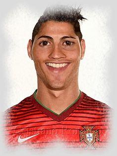 Cristiano Ronaldo Caricature  Watch this***