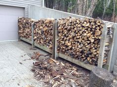 Looking for a quick and easy firewood or log rack plan? Here's an overview of a rack design I've used several times with great success. Not only is it quick ...