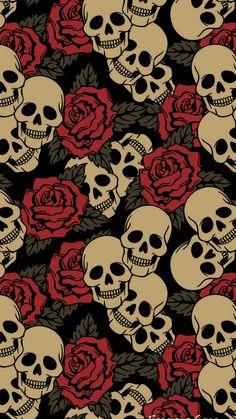 Skull skull wallpaper for android Wallpapers Android, Dope Wallpapers, Aesthetic Wallpapers, Iphone Android, Screen Wallpaper, Cool Wallpaper, Mobile Wallpaper, Painting Wallpaper, Gothic Wallpaper