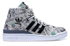 "Jeremy Scott x adidas Forum Mid ""The Money"""