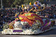 South Pasadena float in the 2014 Rose Parade.