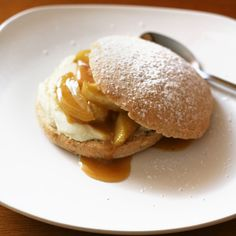 Apple and Ginger Shortcakes