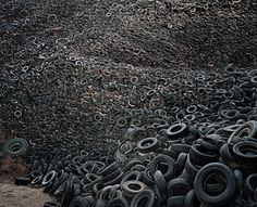 Edward Burtynsky photographer. This is somehow disturbing!