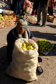 Uzbekistan, Khiva, Local Market by MY2200, via Flickr