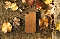 Premium leather iPhone 5 case
