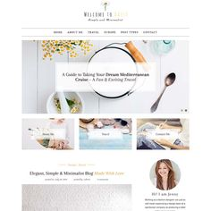 Best Minimalist Simple WordPress Themes and Templates 2020 Simple Wordpress Themes, Custom Web Design, Professional Website, Minimalist, Templates, Google, Blog, Fun, Stencils