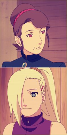 Ino and her mother