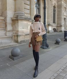 Preppy Outfits, Mode Outfits, Cute Casual Outfits, Spring Outfits, Black Girl Aesthetic, Aesthetic Fashion, Aesthetic Clothes, Fashion 90s, Look Fashion