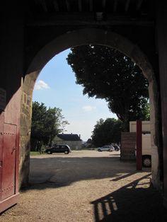 Chateau Dukal, Caen, France Sidewalk, France, Doors, Side Walkway, Walkway, Walkways, Pavement, French, Gate