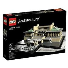 Lego Building Sets, Building For Kids, Lego Sets, Imperial Hotel, Lego City Police, Unique Centerpieces, Lloyd Wright, Home Gifts, Xmas Gifts