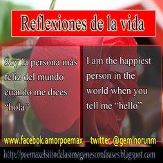 Love quotes inglis/español - Imagenes Poemax