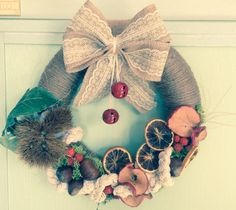 Autumn wreath,handmade
