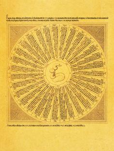 Lámina: Rueda de las estrellas de la serpiente. En: Libros del saber de astronomía del Rey D. Alfonso X de Castilla / copilados, anotados y comentados por Manuel Rico y Sinobas. - Madrid : [s.n.], 1863-1867 (Tipografía de D. Eusebio Aguado).