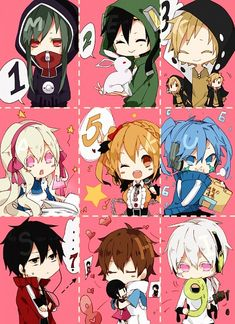LOL, Kano's handpuppets and Konoha is eating his number ( > v <) I luv these guys like a second family!
