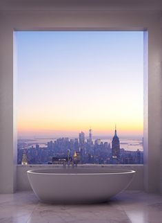 Berke was tapped to do the interiors of 432 Park Avenue, the high-profile Rafael Viñoly–designed luxury residential tower that will rise 96 floors over Manhattan upon its completion. Photo courtesy of CIM Group & Macklowe Properties