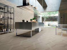 Revêtement de sol/mur en grès cérame LABYRINTH - MIRROR Collection Labyrinth by Ceramiche Refin design Giulio Iacchetti
