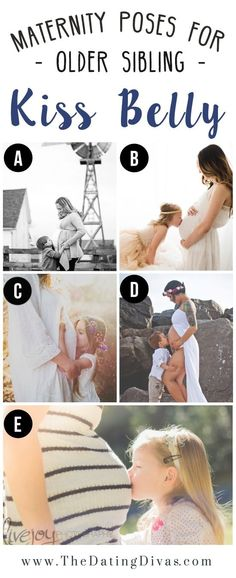 Maternity Pose Ideas with Toddler