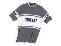 1970's Cinelli Jersey - 10 more designer cycling jerseys that don't look like someone vomited logos down their fronts | CycleLove