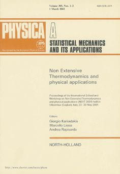 Публикации в журналах, наукометрической базы Scopus  Physica A: Statistical Mechanics and its Applications #Physica #A #Statistical #Mechanics #Applications #Journals #публикация, #журнал, #публикациявжурнале #globalpublication #publication #статья