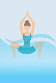 Find relaxation and meditation in your Hot Tub. See how to do various yoga poses from beginner to intermediate that can be done in a spa. Pool Workout, Mommy Workout, Aerobics Workout, Hot Tub Deck, Hot Tub Backyard, Jacuzzi, Hot Tub Accessories, Hard Yoga, Family Pool
