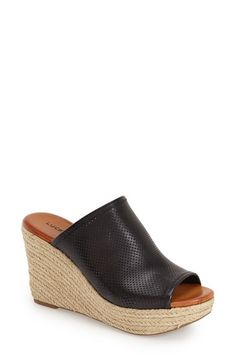 Lucky Brand 'Mackayla' Perforated Wedge (Women) available at #Nordstrom