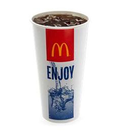 McDonald's cups - isn't it weird how most fast food trash in ditches comes from McDonald's, and not other chains?