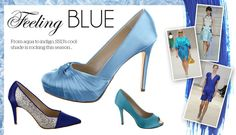 So you are feeling Blue ? Then lets go Blue. from The Wedding Boutique Bridal shop Carlisle