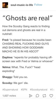 Supernatural   The Scooby Gang and the existential crisis