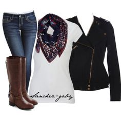 """School Outfit #3"" by sanchez-gaby on Polyvore"