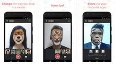 Facebook MSQRD İndir - Selfie Animasyonlar Ekleme Uygulaması