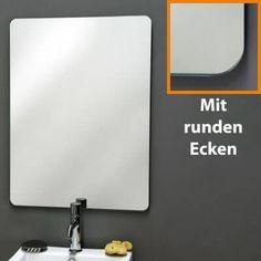 Elegant Spiegel nach Ma bestellen auch mit runden Ecken