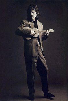 George Harrison with #ukulele