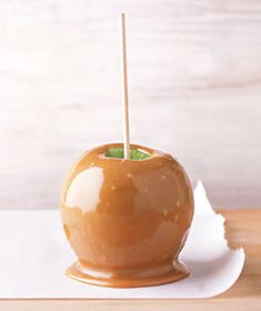 Homemade Caramel Covered Apple...Yum!