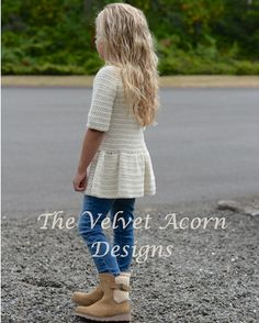 Listing for CROCHET PATTERN ONLY of The Script Pullover. This sweater is handcrafted and designed with comfort and warmth in mind…Perfect accessory for all seasons. All patterns are american english written instructions in standard US standard terms. **Sizes included 2/3, 4/5, 6/7, 8/9, 10/11, 12/14, Small, Medium and Large sizes **Bulky weight yarn used. 2/3 (sweater 26.25 inch chest circumference) 4/5 (sweater 27.50 inch chest circumference) 6&#x2...