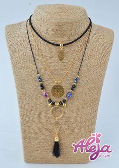 70cm Collar de Círculo con borlas de larga Suéter Colores Pastel Colgante Cadena UK