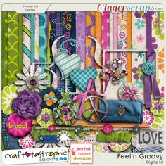 Feelin' Groovy by Craft-tastrophic at Gingerscraps.net. Date of Purchase: 02/18/2015.