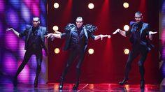Well heeled dancers Yanis Marshall, Arnaud