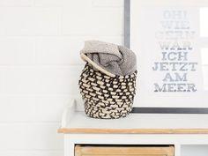 DIY-Anleitung: Korb mit Henkeln aus Seil weben via DaWanda.com