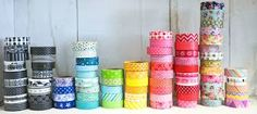 Cute washi tape...it´s easy to do