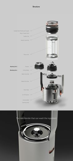 Dual Mixer on Behance