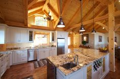 dormer in kitchen to get morning sun. Morning Sun, Ceiling Height, Kitchen Pantry, House Ideas, New Homes, Houses, Home Decor, Homes, Butler Pantry