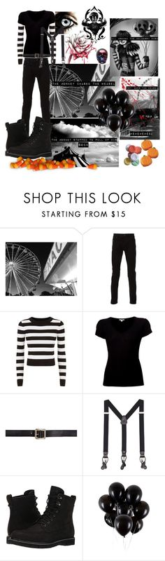 """""""• Laughing Jack • 🎪"""" by redrose9 ❤ liked on Polyvore featuring Diesel, DKNY, James Perse, Maison Margiela, MANGO MAN and Timberland"""