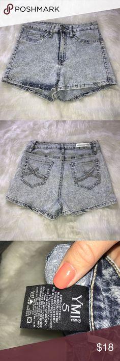 YMI Stretchy acid wash high waisted shorts Very stretchy YMI Shorts Jean Shorts