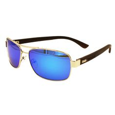 a6383329cedf9 Men   Women s Dark Ebony Silver framed Slim Aviators - Blue Polarized  Lenses  fashion  clothing  shoes  accessories  mensaccessories ...